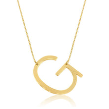 Load image into Gallery viewer, Signature Initial Necklace (Gold)