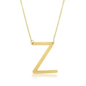 Signature Initial Necklace (Gold)