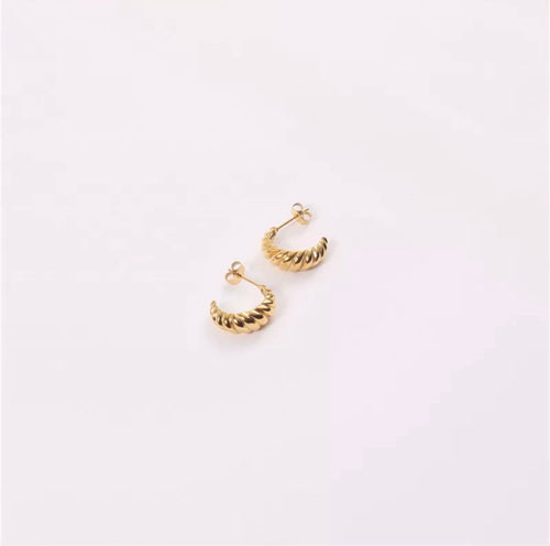 Layla Hoop Earrings (Gold)