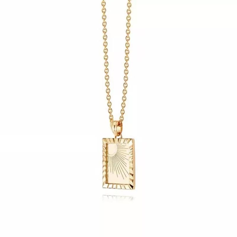 Sunrise Necklace (Gold)