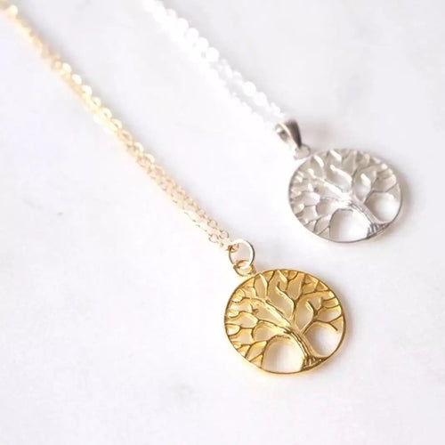 Tree of Life Necklace (Gold)