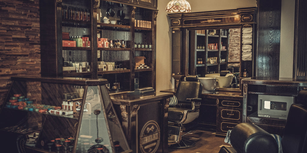 Barbershop. Code for Man Spa.