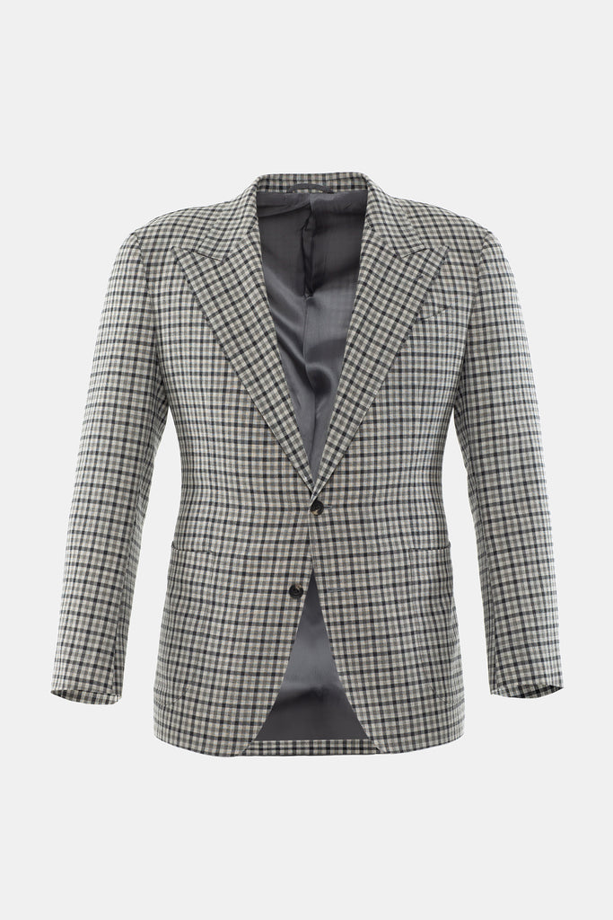 Grey Multi Check Jacket