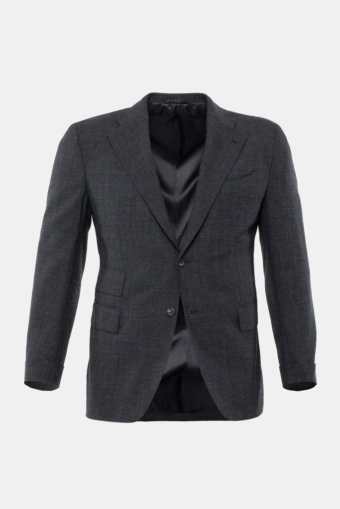 Charcoal Prince of Wales Jacket
