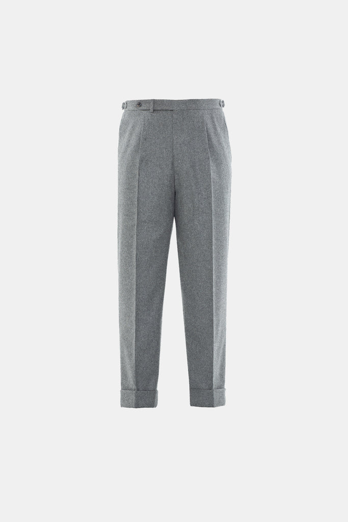 Medium Grey Flannel Trouser