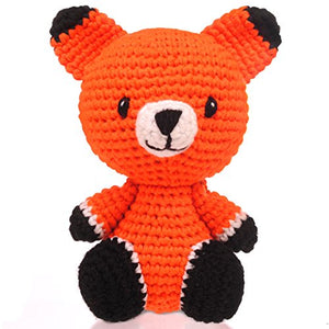 BobiCraft Fox Knitted Teddy