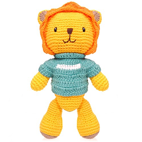 BobiCraft Lion with Green Jumper Teddy