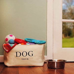 Dog Toy Basket