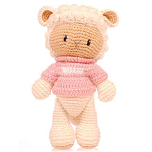 Load image into Gallery viewer, BobiCraft Sheep with Pink Jumper Teddy