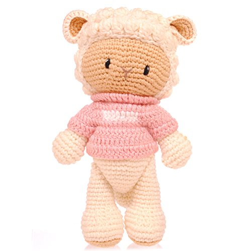 BobiCraft Sheep with Pink Jumper Teddy