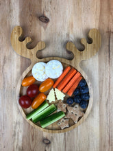 Load image into Gallery viewer, Reindeer Bamboo Plate