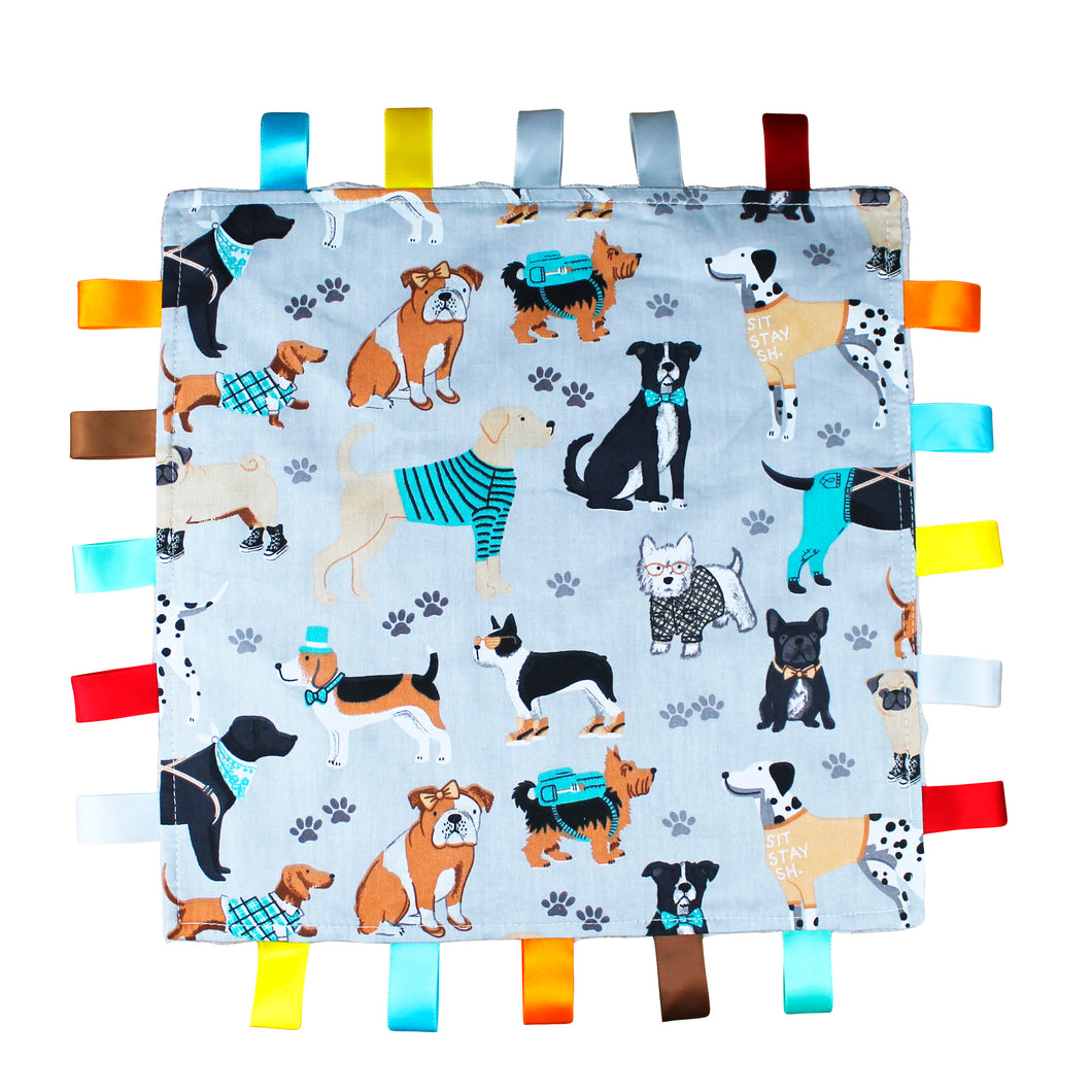 Dog Baby Tag Blanket