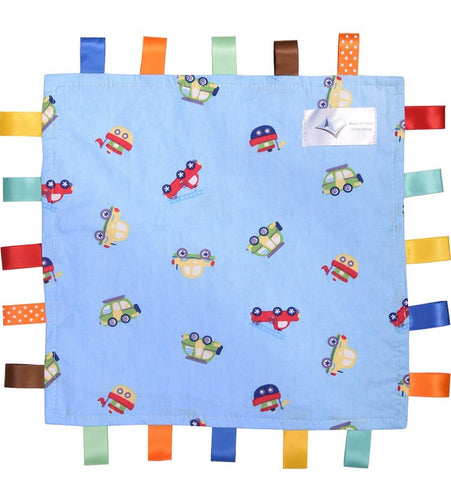 Baby Tag Blanket Vehicles/Cars