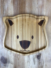 Load image into Gallery viewer, Bamboo Bear Plate