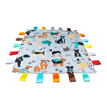Load image into Gallery viewer, Dog Baby Tag Blanket