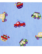 Load image into Gallery viewer, Baby Tag Blanket Vehicles/Cars