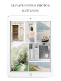 Elevated Stock Photos: Slow Living