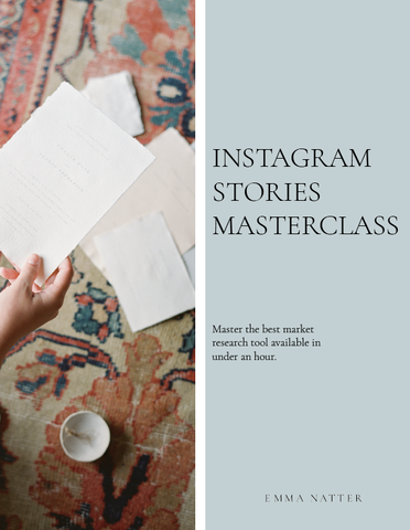 Instagram Stories Masterclass