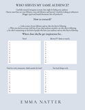 Ideal Customer Magnet Worksheet