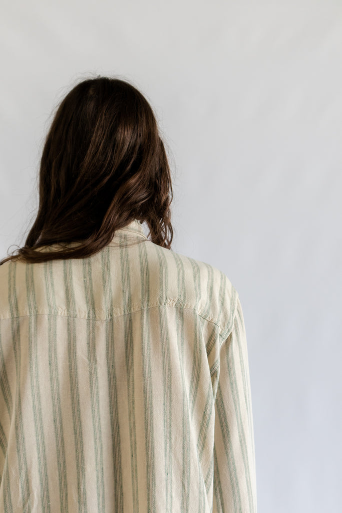 Vintage Stripped Blouse