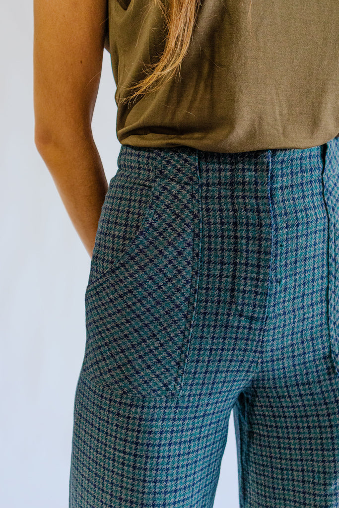 Parisian Plaid Trouser Detailed View
