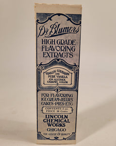Vintage Flavor Extract Packaging Box