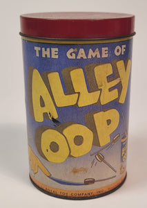 1937 Vintage ALLEY OOP Comic Strip Game, Slesinger, Cavemen, Dinosaurs