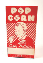 Load image into Gallery viewer, Vintage, Unused 1930's-1940's POPCORN BOX, Graphic, Vintage Movie Theater