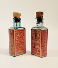 Load image into Gallery viewer, Victorian WHITTEMORE'S GILT EDGE DRESSING BOTTLE, Leather Preserver, Vintage Fashion