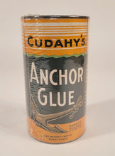 Load image into Gallery viewer, Antique, Unopened CUDAHY'S Anchor Glue, Vintage Nautical Product
