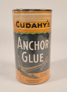 Antique, Unopened CUDAHY'S Anchor Glue, Vintage Nautical Product