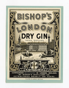 London Dry Gin Label
