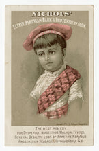 Load image into Gallery viewer, Victorian Sapanule Glycerine Lotion, Quack Medicine Trade Card || Pharmacy