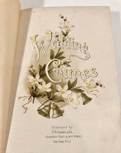 Load image into Gallery viewer, Early 1900's WEDDING CHIMES, Wedding Day Memory Book