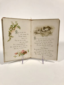 Early 1900's WEDDING CHIMES, Wedding Day Memory Book