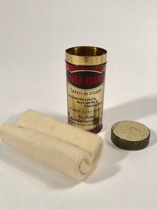 Full view - No Dim Cleaning Cloth Gold Tin Packaging - Inside Original Cleaning Cloth