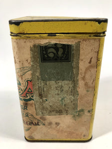 Antique LA PLAZA Tobacco Tin Box || EMPTY