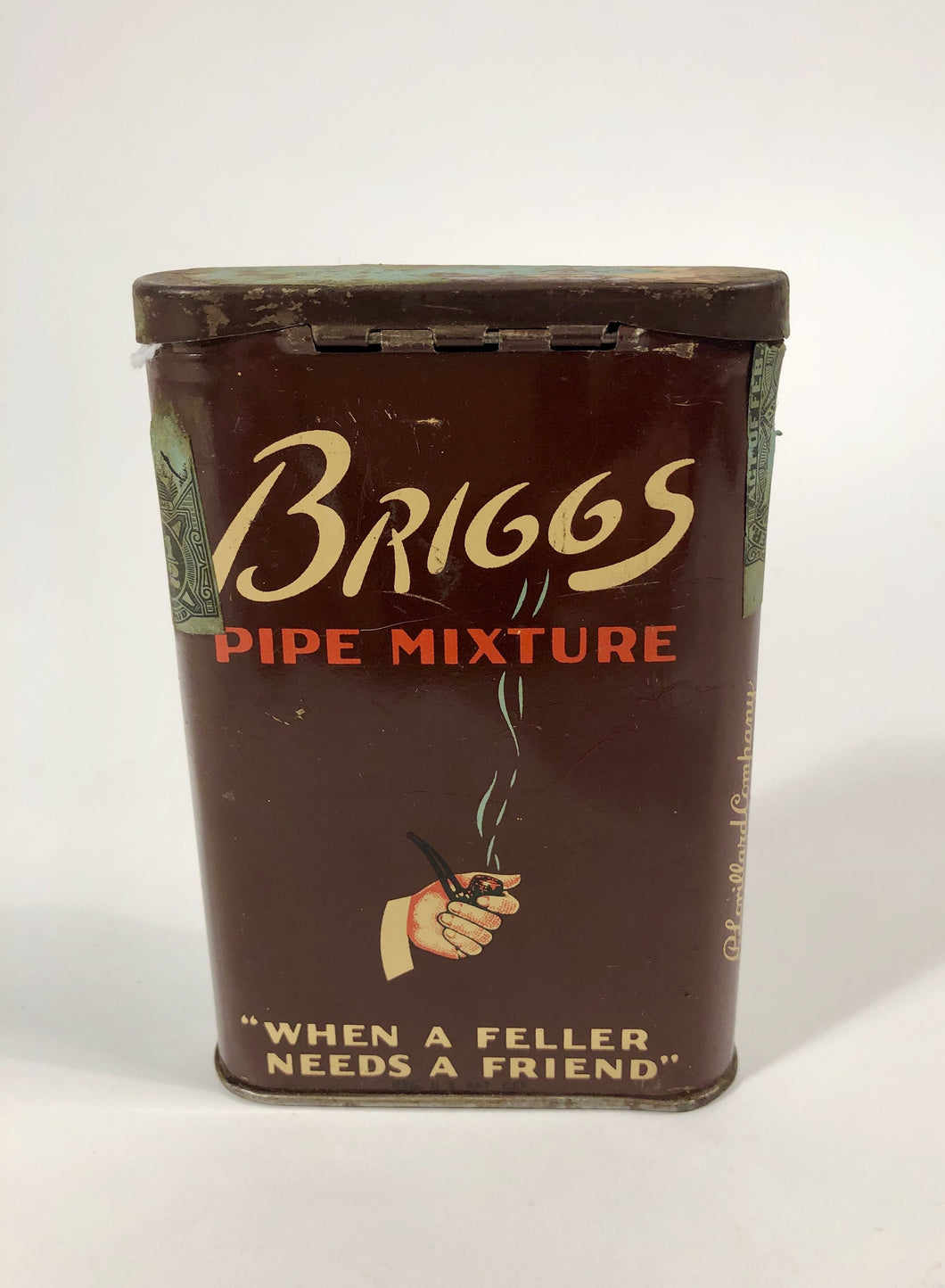 Vintage BRIGGS PIPE MIXTURE Tobacco Tin,