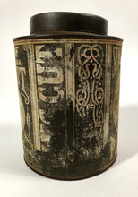 Load image into Gallery viewer, Antique, Late 1800's SEAL OF NORTH CAROLINA Plug Cut Tobacco Tin || EMPTY