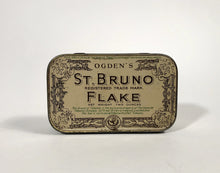 Load image into Gallery viewer, Antique Ogden's ST. BRUNO FLAKE Tobacco Tin Box, Great Britain || EMPTY