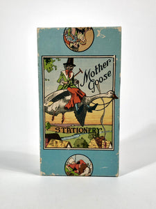 1920's MOTHER GOOSE STATIONARY Display Box || Nursery Rhyme Illustrations