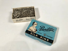 Load image into Gallery viewer, PURITAN BRAND Silk Pins Box, Scoville Manufacturing, Brass, Rustproof || Original Pins