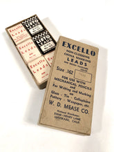 Load image into Gallery viewer, Mid-Century EXCELLO MARKING LEADS For Mechanical Pencils, Twelve Packs