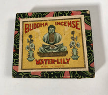 Load image into Gallery viewer, Vintage Buddha Incense Water Lilly Packaging Made in Japan