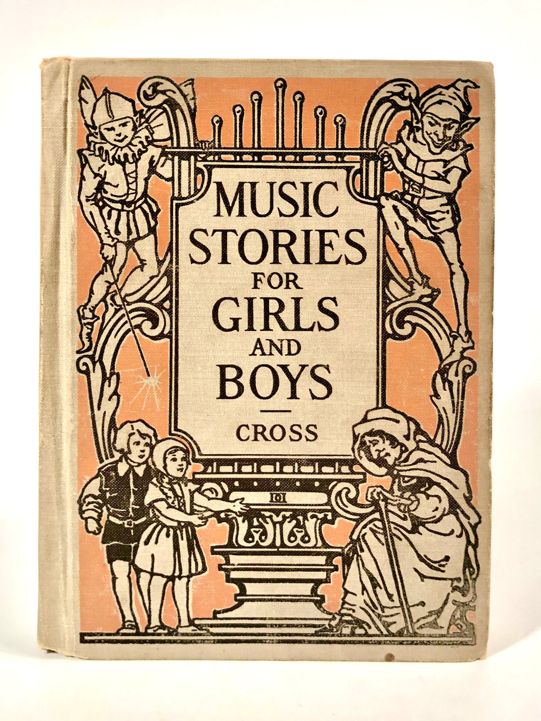 1926 MUSIC STORIES FOR GIRLS AND BOYS Kid's Book || Eugenie M. Wireman