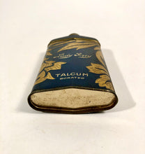 Load image into Gallery viewer, 1920's LADY GREY Talcum Powder Cosmetic Tin || Partially Full
