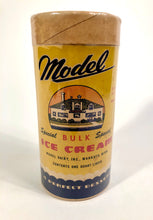 Load image into Gallery viewer, Art Deco Era Model Ice Cream Container, Carton