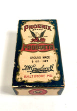 Load image into Gallery viewer, 1920's Phoenix Brand Ground Mace Box, Spice Package || Unopened