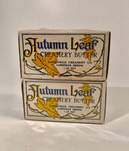 Load image into Gallery viewer, AUTUMN LEAF Creamery Butter Packages || Two Shrink Wrapped Boxes