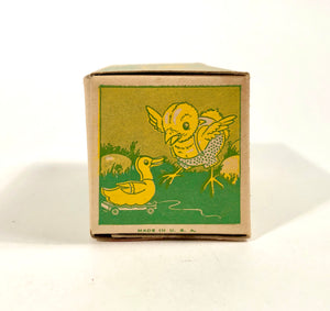 Vintage Easter Chick Cookie, Candy, Spring Gift Box || Fully Illustrated